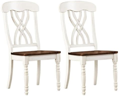 cheap dining chairs set of 2 homebelle set of 2 antique white farmhouse dining chairs