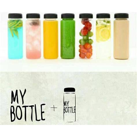 Botol Minum Healthy Dialy Bottle 520ml Botol Minum Plastik Bening Juice Lemon My Bottle 500ml Blue Jakartanotebook