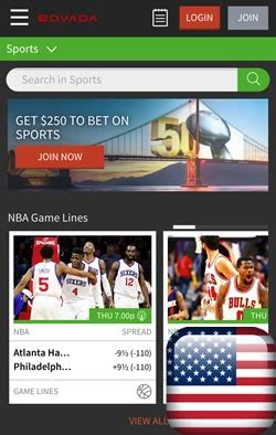 bovada app for android bovada usa android sportsbook android sports betting