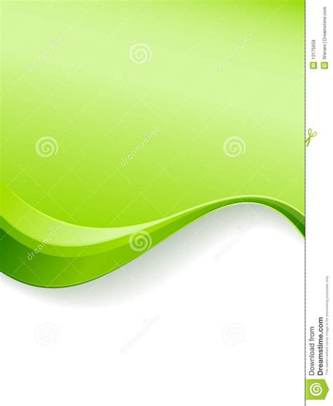 design powerpoint go green green wave background template royalty free stock photos