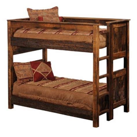 Log Bunk Beds With Trundle Rustic Log Bunk Beds Trundles Lodgecraft