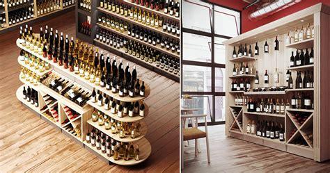 arredamento per enoteca mobile espositori legno per vini per enoteche cm 272x50x240