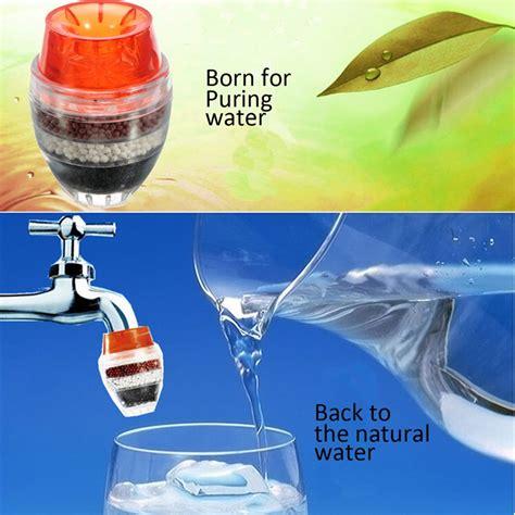 Faucet Filter Tap Purifier Kepala Penyaring Air Mini Sederhana tap water clean purifier filter for 16 19mm faucet