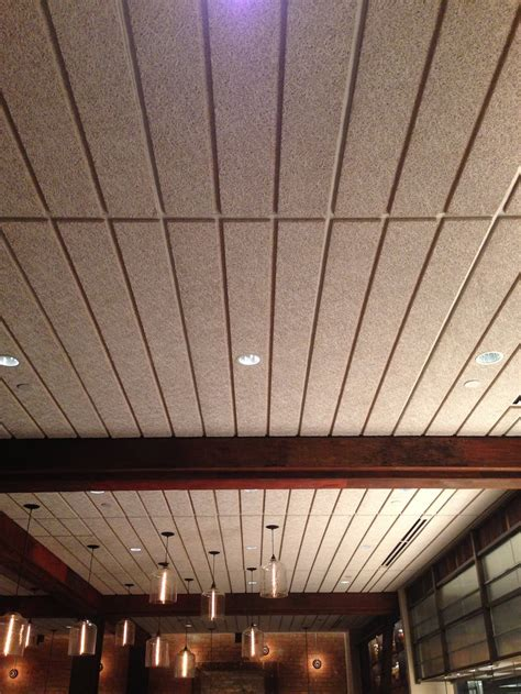 Tectum Ceiling by Acoustical Panels By Tectum Formas Inc Interiors