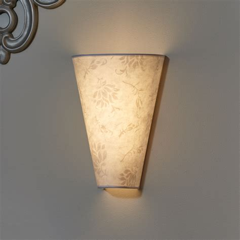 pattern wall sconce moire pattern fabric sconce battery powered it s