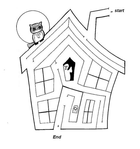halloween coloring pages mazes halloween mazes colouring pages