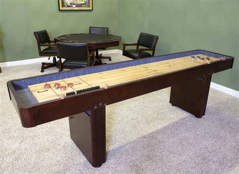 Best Shuffleboard Table by 9 Level Best Shuffleboard Warm Chestnut Shuffleboard Net