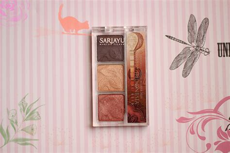 Eyeshadow Sariayu Bagus sariayu eyeshadow yang bagus dan wearable review e l l y z a b e t h fashion