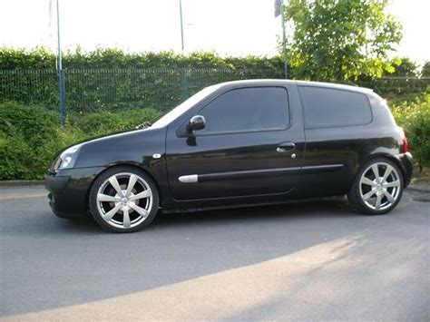 renault clio 2002 black clioinitiale 2002 renault clio specs photos modification
