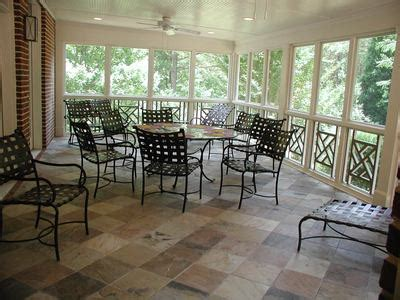 Screen Porch Flooring by An Inspiring Convertibility Possibility Screened Porch Or