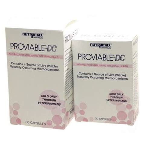 proviable for dogs proviable for dogs and cats kp paste and dc capsule vetrxdirect