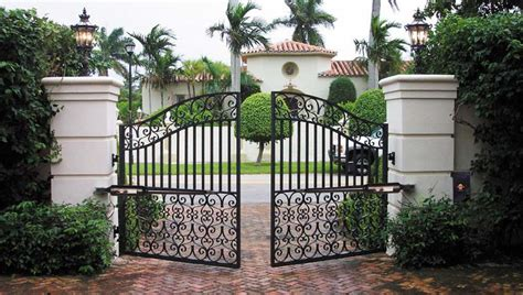 automatic electric security gates to secure your house
