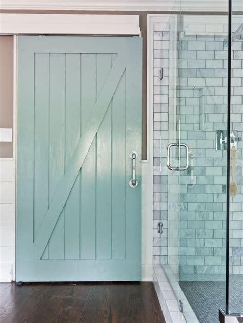 Barn Shower Door Barn Door Home Pinterest Track Door Sliding