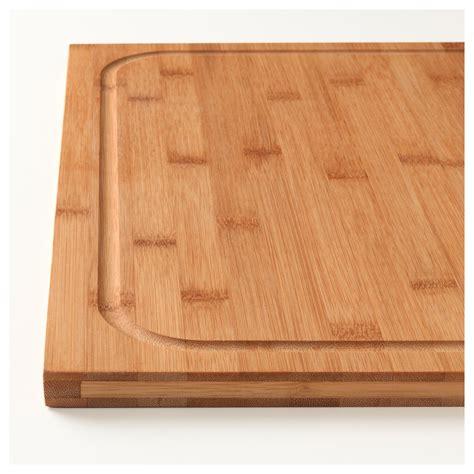 l 196 mplig chopping board bamboo 46x53 cm ikea