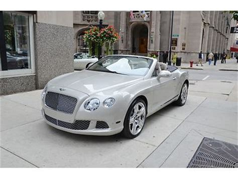 purchase new 2013 bentley gtc msrp 240 285 00 in chicago