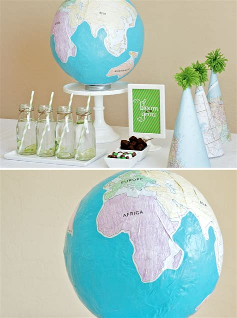 How To Make A Paper Globe - how to make a globe paging supermom