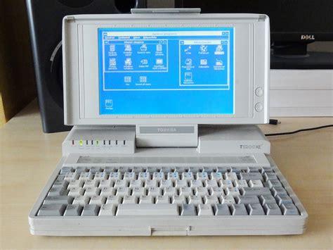 80 90s computing toshiba t1200xe 1990 t1200xe belongs to the