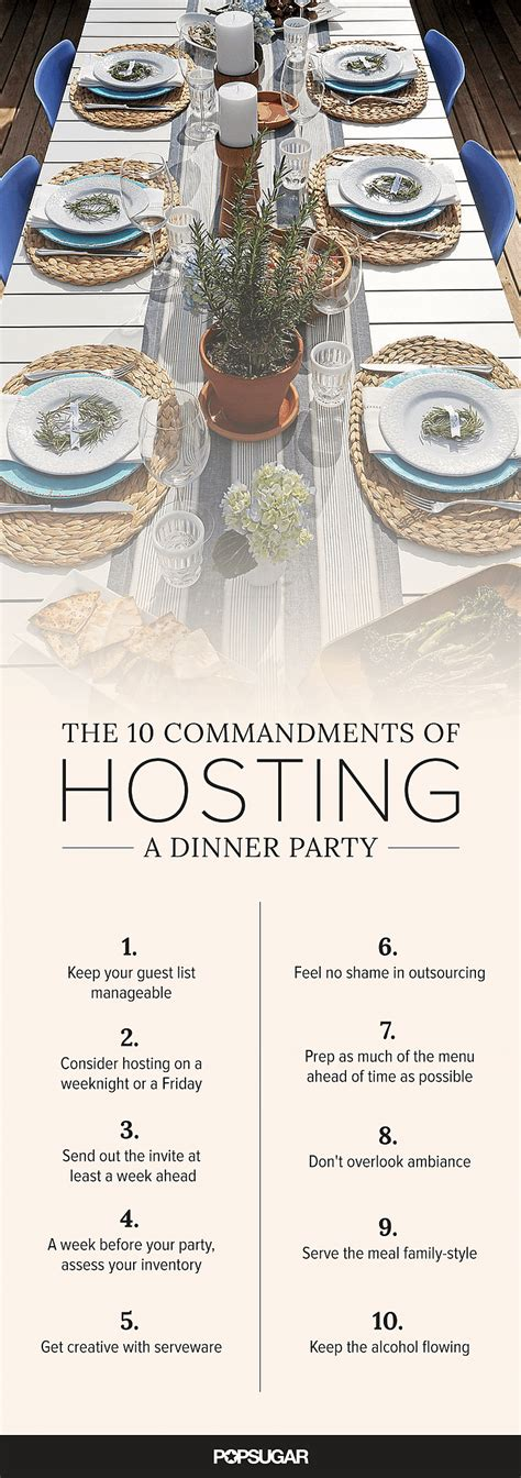 how to host a dinner party image source popsugar photography anna monette roberts