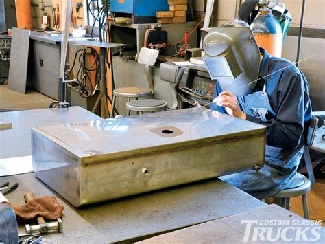 boat gas tank fabrication how to build a custom gas tank hot rod network