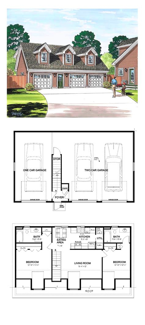 garage apartments floor plans simple cottage floor plan small home plans and