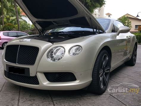 bentley coupe gold bentley continental gt 2012 v8 4 0 in penang automatic