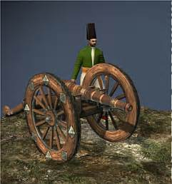 Ottoman Empire Cannons 9 Lber Foot Artillery Ottoman Empire Napoleon 拿破崙