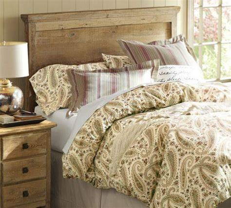 Pottery Barn Headboard Headboard Wax Pine Finish Pottery Barn