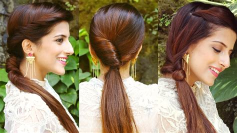 everyday indian hairstyles for medium hair simple hairstyles for everyday indian wedding 3 cute