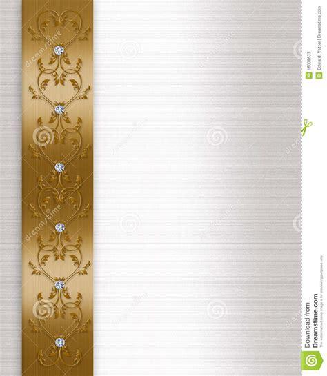 wedding invitation border designs gold wedding invitation border gold stock illustration illustration of illustration letter 16008633