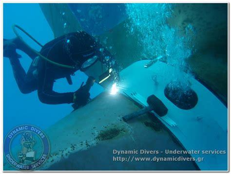 underwater welding cutting dynamic divers underwater services