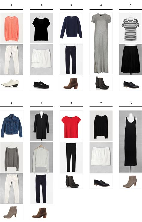 Wardrobe Capsule Exles building a capsule wardrobe from scratch an exle