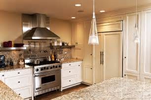 White Kitchen Cabinets With Stainless Steel Appliances Kitchen Appliances Home Kitchen Appliances Stainless Steel