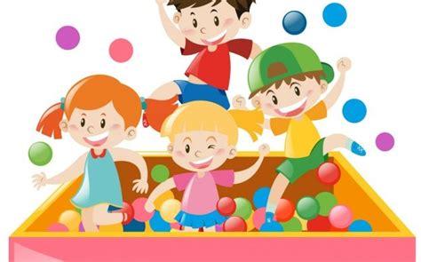 dibujos de niños jugando golf czas zabawy w salach dla dzieci blog artura