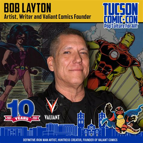Bob S Garage Layton by Bob Layton Tucson Comic Con Presented By Amazing