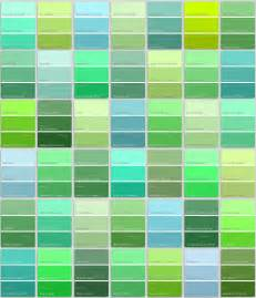 blue green color names paint different shades of green pictures to pin on
