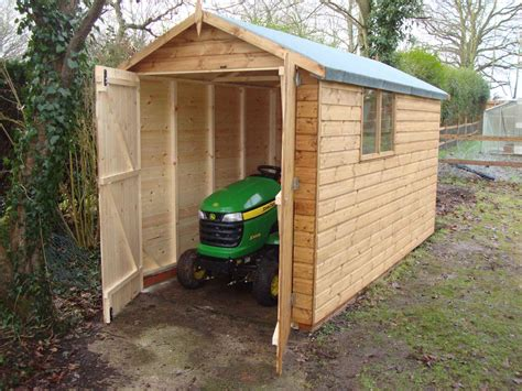 Lawn Tractor Shed by Garage Doors Mb Garden Building