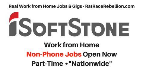 International Online Jobs Work From Home - work from home non phone jobs at isoftstone open now real work from home jobs by rat