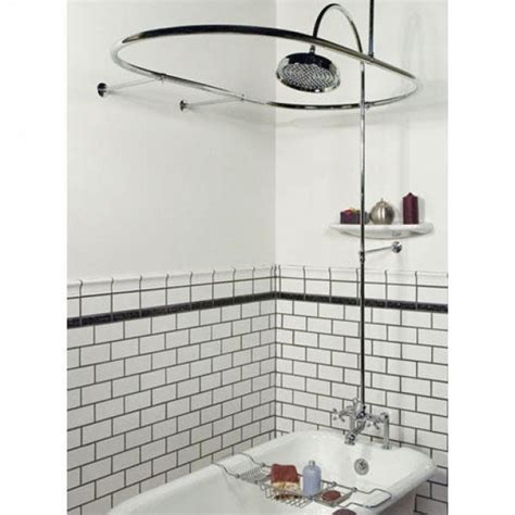 shower curtain ring for clawfoot tub clawfoot tub shower curtain bathroom exciting shower