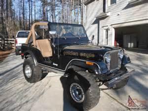 Eagle Jeep For Sale 1979 Jeep Cj5 Golden Eagle Sport Utility 2 Door 5 0l