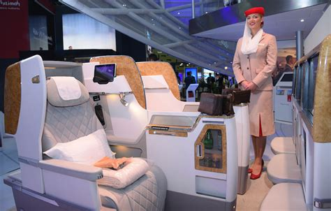 emirates airline business class seats emirates offers exclusive look at business class seat at