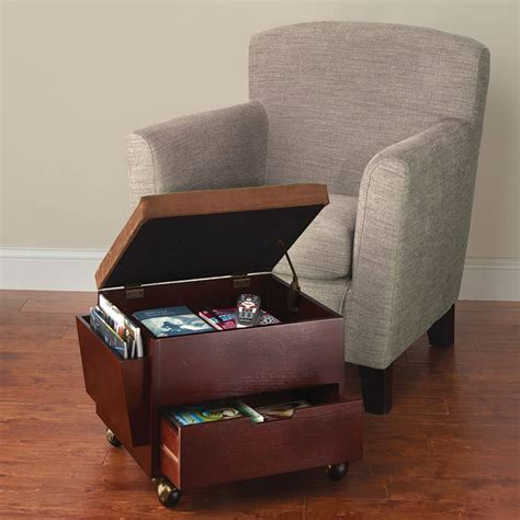 fancy ottomans fancy rolling storage ottoman