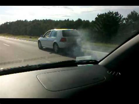 volkswagen diesel smoke the vw golf