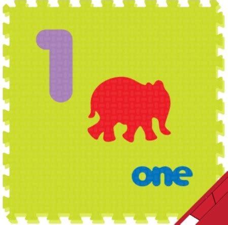 Karpet Lantai Gambar Kartun jual evamat karpet puzzle gambar angka huruf binatang