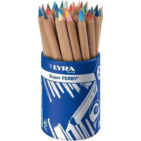 Lyra Ferby Nature 6 Ref3611060 lyra ferby triangular coloured pencils pack of 36 officemax myschool