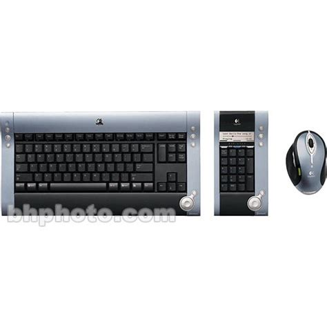 Keyboard Numeric Logitech Logitech Dinovo Cordless Desktop Wireless Keyboard 967562