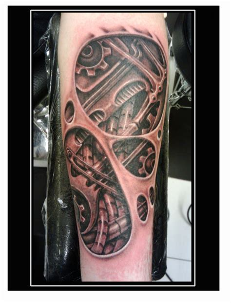 tattoo new 2012 best biomechanical tattoo artists
