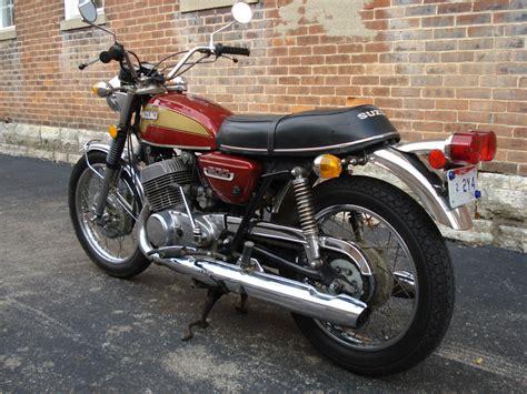 Suzuki Titan 1974 Suzuki T500 Titan Bike Gt500 Gt380 Gt550