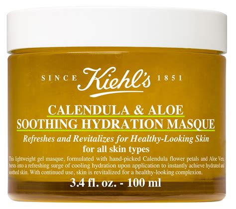 Sale Kiehls Calendula Toner Jar kiehl s since 1851 calendula aloe soothing hydration masque news