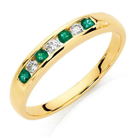 created emerald ring michael hill