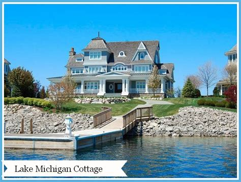 home tour a lake michigan cottage